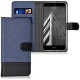 Wallet Case Huawei P10 Lite Canvas Blau