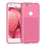 Crystal Hülle Case Google Pixel Pink