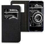 Flip Case Huawei P20 Lite Fenster Schwarz