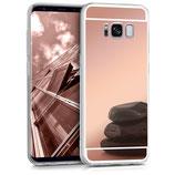 Spiegel Hülle Samsung Galaxy S8 Rosegold