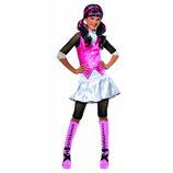 Original Lizenz Monster High Draculaura Kostüm Schwarz Pink