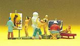 Preiser 10106 Maler,Bildhauer,Modell H0