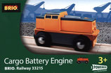 BRIO 33215 Cargo Battery Engine