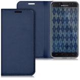 Flipcover Case Samsung Galaxy J5 2017 Dunkelblau
