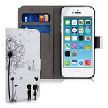 Wallet Case Apple iPhone SE / 5 / 5S Pusteblumen