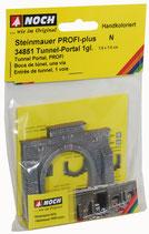 Noch 34851 Tunnel-Portal, 1-gleisig N