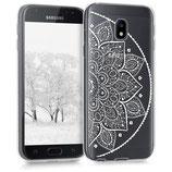 TPU Case Samsung Galaxy J3 2017 Halbblume