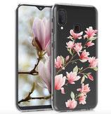 TPU Case Hülle Samsung Galaxy A20e Magnolien