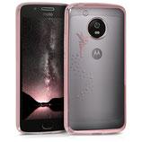 TPU Case Hülle Motorola Moto G5 Fee Rosegold