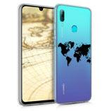 TPU Case Huawei P Smart (2019) Weltkarte