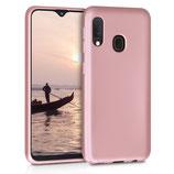 TPU Case Hülle Samsung Galaxy A20e Rosegold