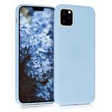 Case Hülle Apple iPhone 11 Pro Max Hellblau