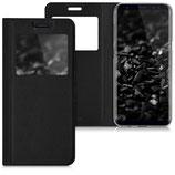 Flip Case Samsung Galaxy S8 Fenster Schwarz