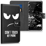 Wallet Case Samsung Galaxy A5 2017 Dont Touch