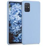 TPU Case Samsung Galaxy A71 Hellblau