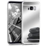 Spiegel Hülle Samsung Galaxy S8 Silber