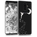 TPU Case Samsung Galaxy S9 Plus Fee Silber
