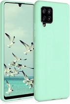 TPU Case Hülle Samsung Galaxy A42 Mint