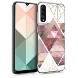 TPU Case Hülle Samsung Galaxy A30s Dreieck
