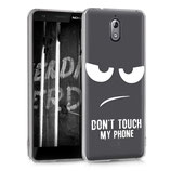 TPU Case Hülle Nokia 3.1 (2018) Dont Touch