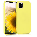 TPU Case Hülle Apple iPhone 11 Pastellgelb