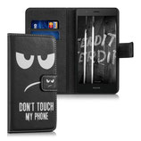 Wallet Case Huawei P9 Lite Dont Touche