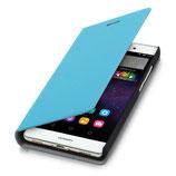 Flip Cover Huawei P8 Lite Hellblau