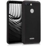 TPU Case Cover Xiaomi Redmi 6 Schwarz
