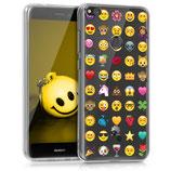 TPU Case Cover Huawei P8 Lite 2017 Emoji