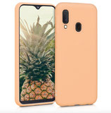 TPU Case Samsung Galaxy A20e Pfirsich
