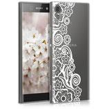 TPU Case Hülle Sony Xperia XA1 Blütenmeer