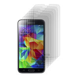 6X Display Schutz Folie für Samsung Galaxy S5 Matt Displayfo