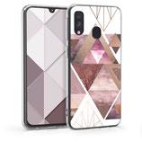 TPU Case Hülle Samsung Galaxy A40 Dreieck