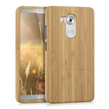 Bambus Case Huawei Mate 8 Hellbraun