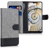 Wallet Case Hülle LG G7 ThinQ Canvas