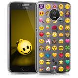 TPU Case Hülle Motorola Moto G5 Emoji