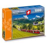 CARTA.MEDIA 7268 Puzzle Appenzellerbahn bei Weissbad