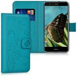 Wallet Case Hülle Huawei P10 Lite Ranken Schmetterling