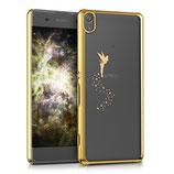 Crystal Case Sony Xperia XA Fee Gold