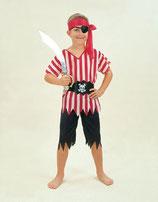 Piratenkostüm Kinder Kinderkostüm Seeräuberkostüm 6-9 Jahre