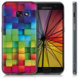 Crystal Case Hülle Samsung Galaxy A3 2017 Regenbogen