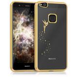 TPU Case Hülle Huawei P10 Lite Fee Gold