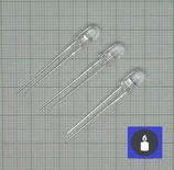 10 X Blauer Flacker LED,5mm Flackerlicht
