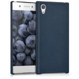 Softcase Hülle Sony Xperia XA1 Blau