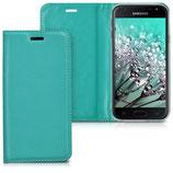 Flipcover Case Samsung Galaxy J3 2017 Petrol