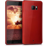 TPU Case Hülle HTC U Ultra Hochglanz Rot