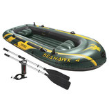 Intex Boot Seahawk 4 Set Schlauchboot
