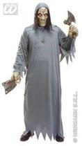 Zombie Untote Kostüm Maske Halloween Fasching Erwachsene