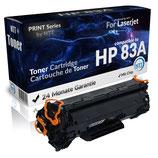 Toner Schwarz HP-83A CF283A für Laserjet