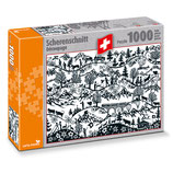 CARTA.MEDIA 7254 Puzzle Scherenschnitt